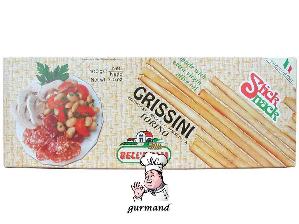Bell´Italia italské grissini tenký typ TORINESI 100g