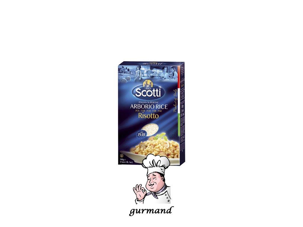 Riso Scotti - rýže Arborio (kulatá) italská 500g