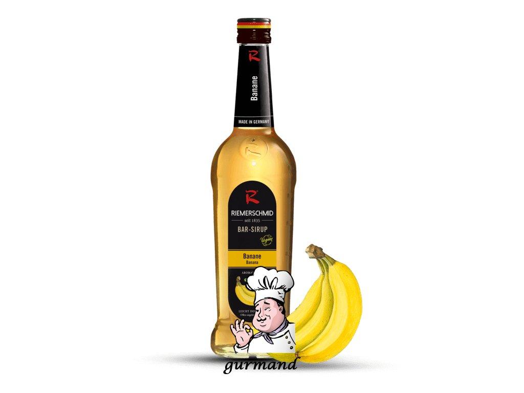 Riemerschmid  Banánový sirup 700ml
