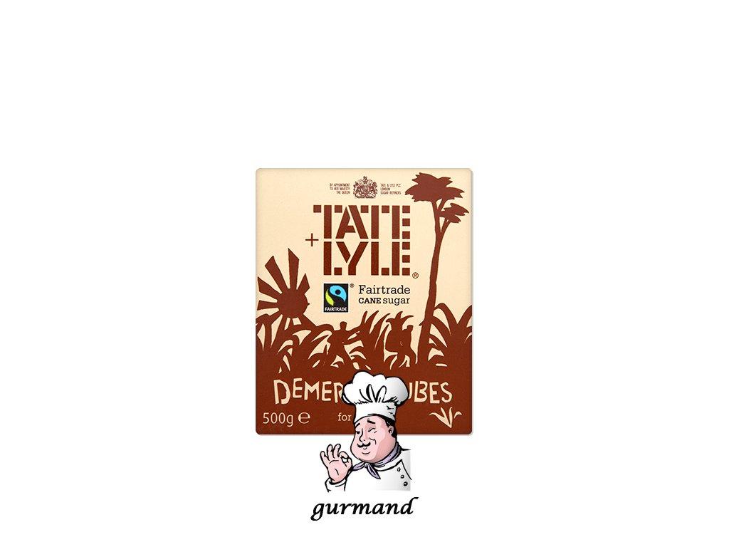 Tate&Lyle Třtinový cukr Demerara hnědý kostkový 500g