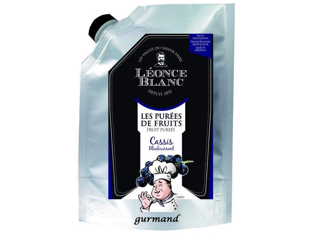 Léonce Blanc Pyré z černého rybízu (dřeň) 1000 g