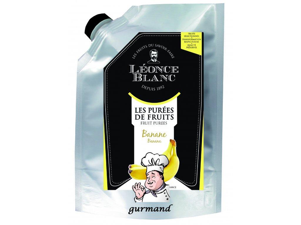 Léonce Blanc Banánové pyré (dřeň) 1000 g