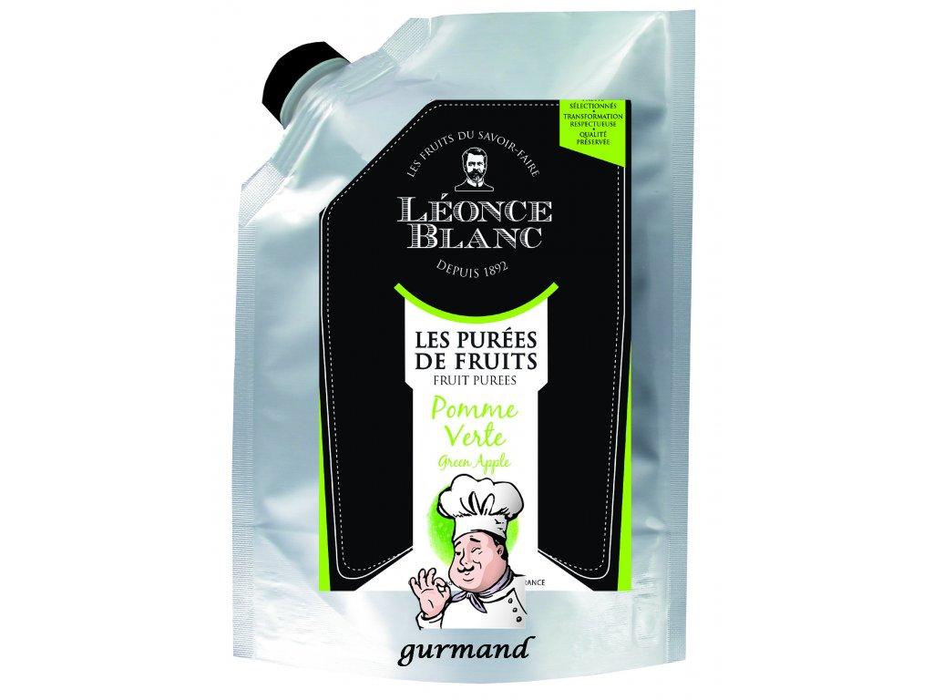 Léonce Blanc Pyré ze zeleného jablka (dřeň) 1000 g