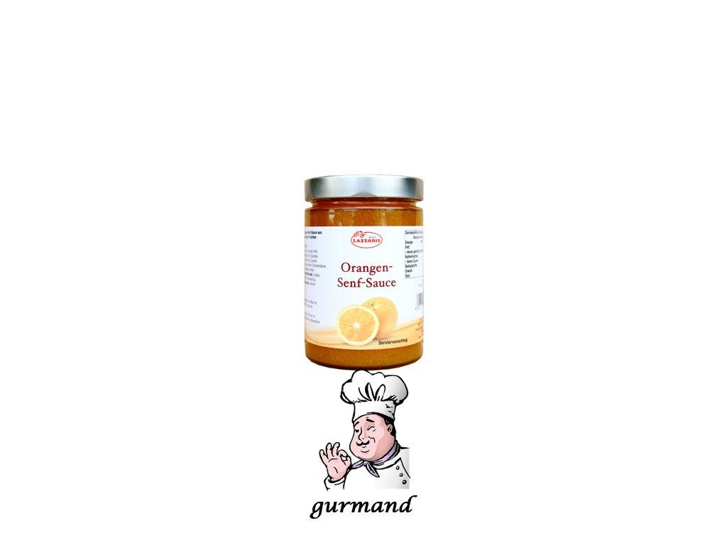 Lazzaris pomerančová hořčice 710g