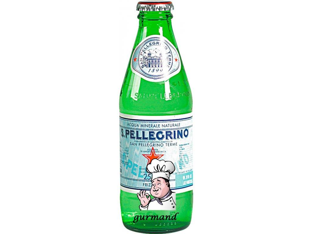 San Pellegrino minerální voda jemně perlivá sklo 24x0,25 l