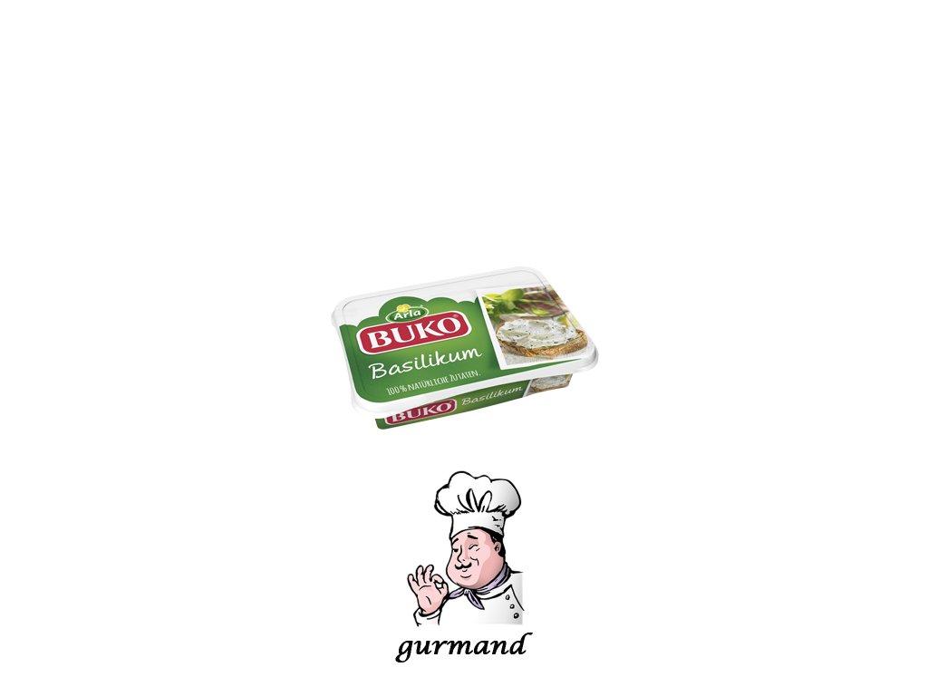Buko Smetanový sýr s bazalkou 200g