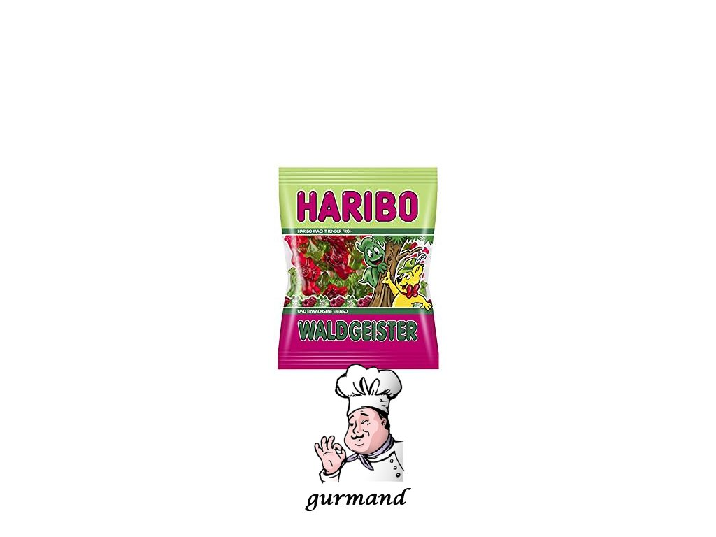HARIBO Waldgeister lesní duchové 200g