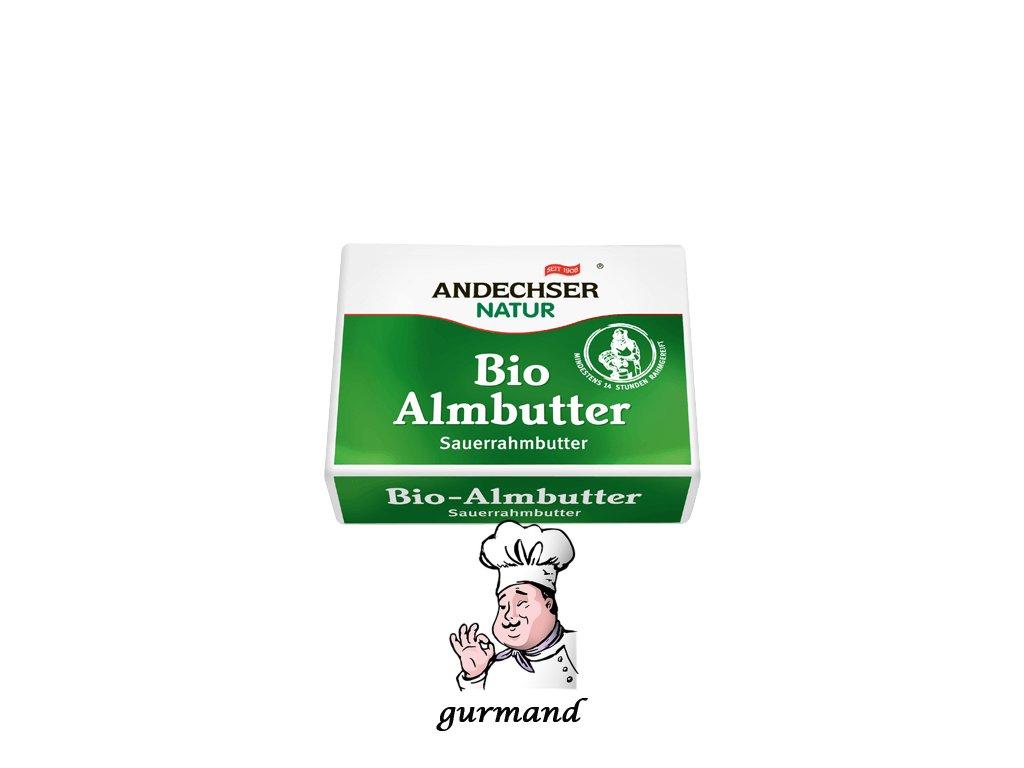 Andechser Bio máslo 82% 250g