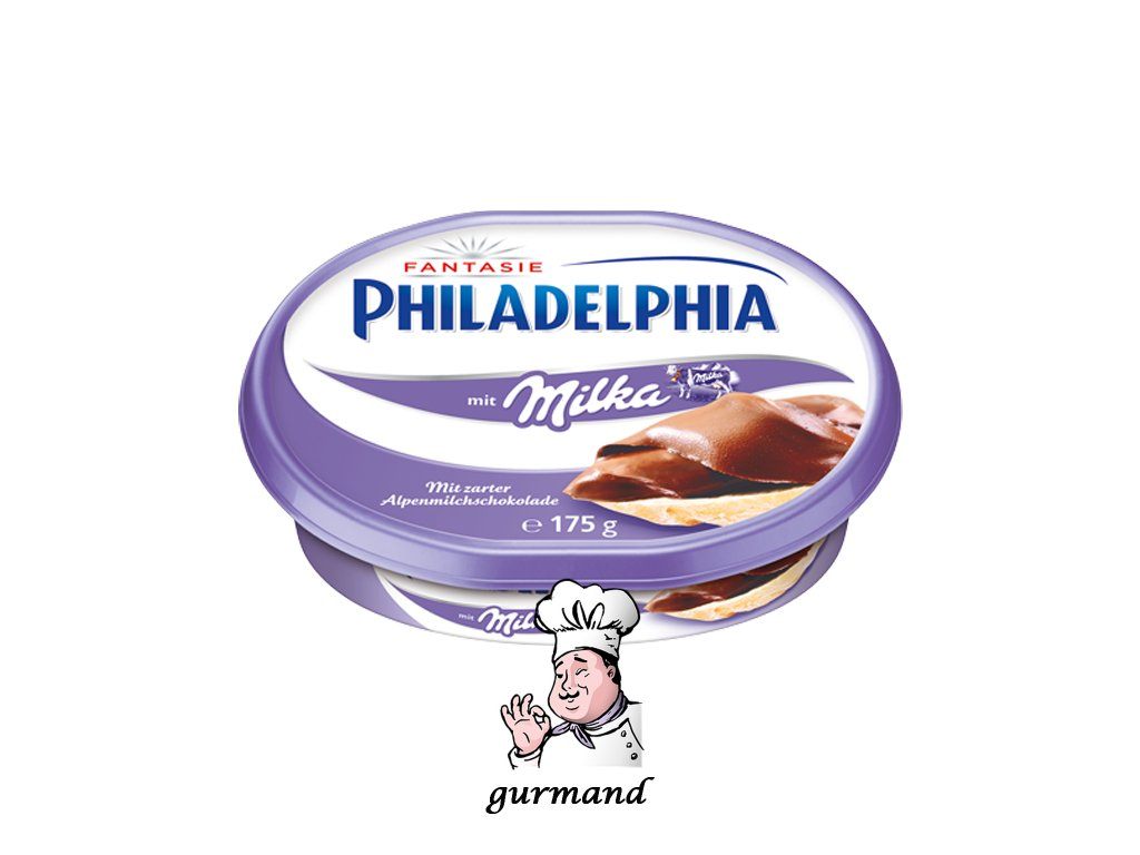 Philadelphia Sýr s čokoládou Milka 175g