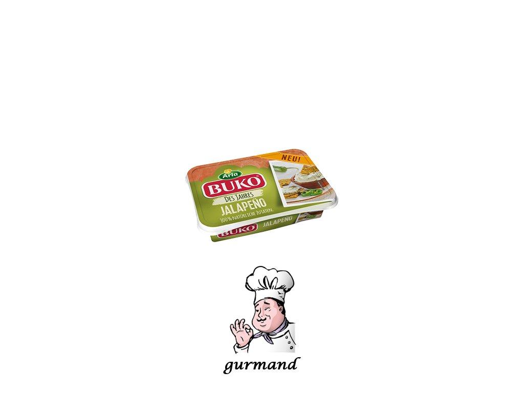 Buko Smetanový sýr Jalapeňo 200g