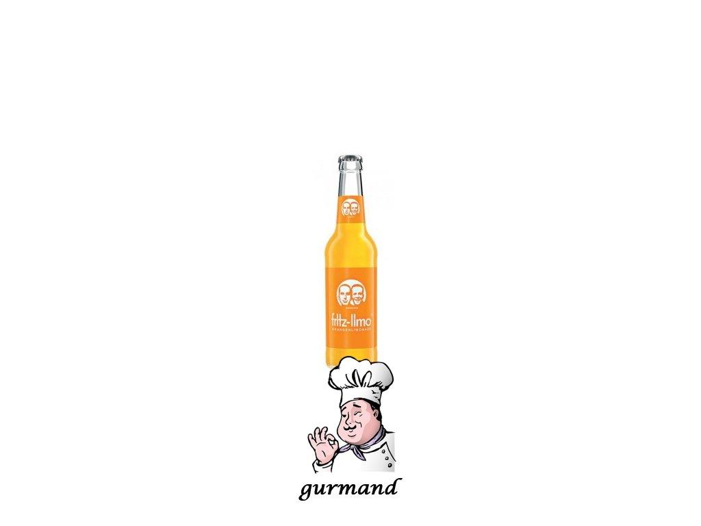 Fritz-kulturgüter  Fritz-Limo Pomeranč set 24x0,33l