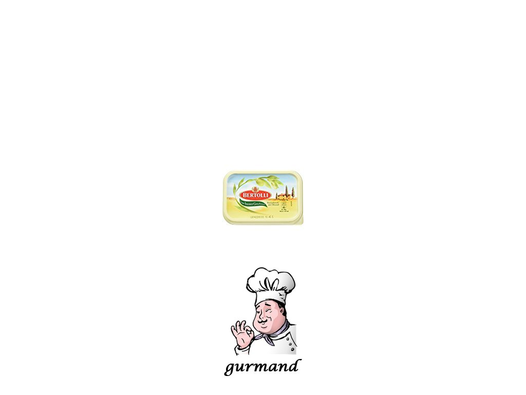 Bertolli Margarín s máslem a olivovým olejem 250g