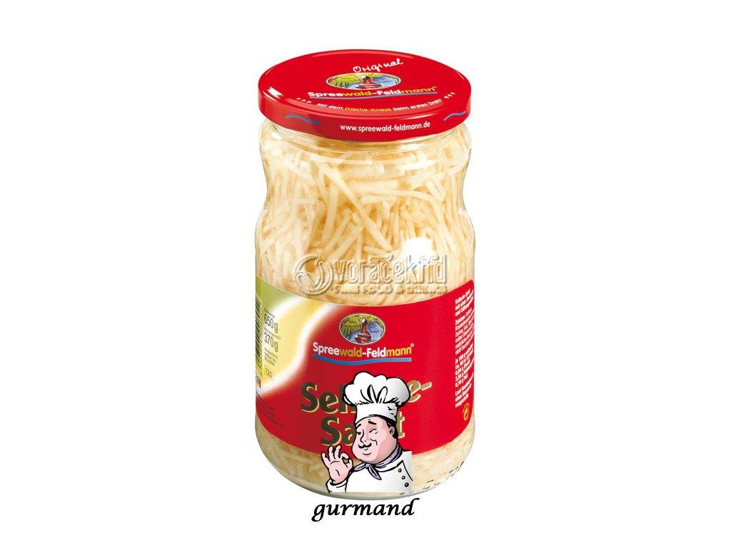 Spreewald Feldmann  Celerový salát ve sladkokyselém nálevu 320/190g