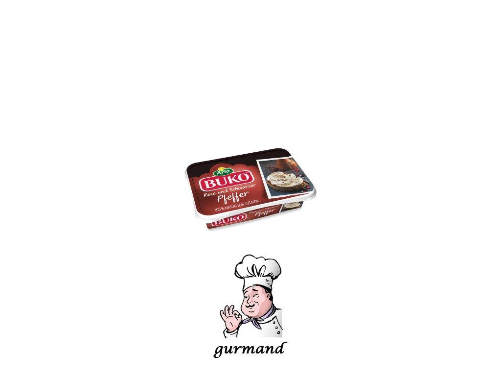 Buko Smetanový sýr s červeným a černým pepřem 200g