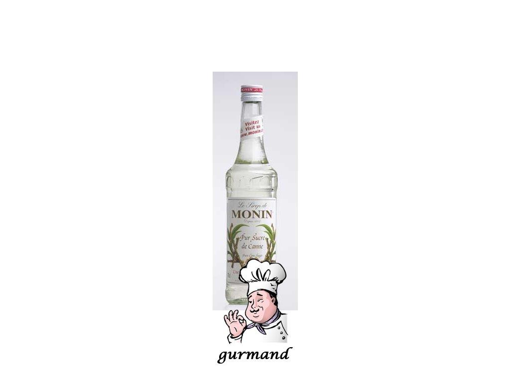 Monin Pur Sucre de Canne Třtinový sirup bílý 0,7l