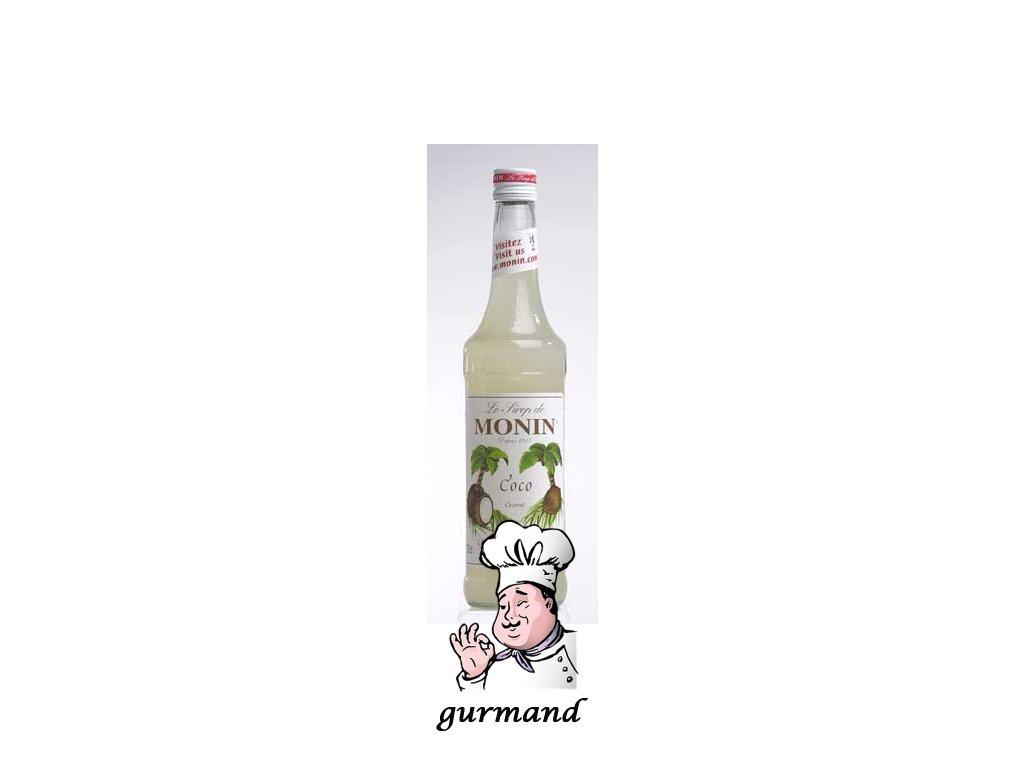 Monin Coco  Kokosový sirup 0,7l