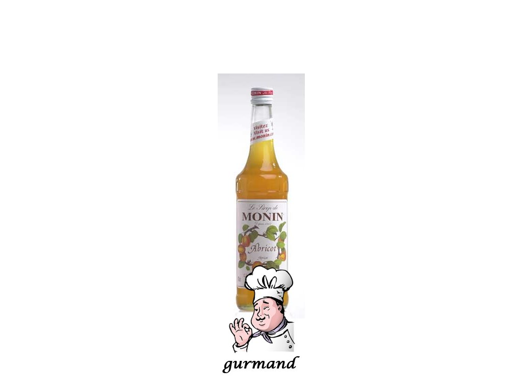 Monin Abricot  Meruňkový sirup 0,7l