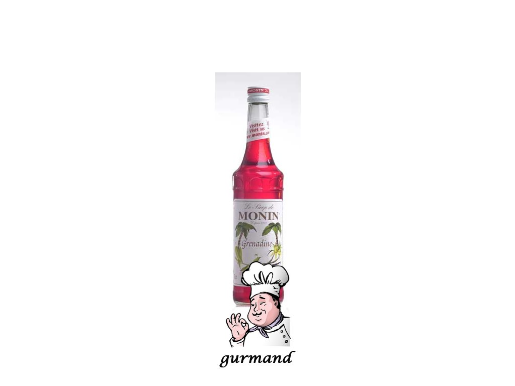 Monin Grenadine  Sirup grenadina 0,7l