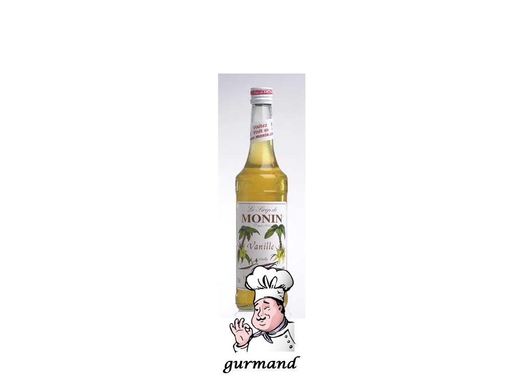 Monin Vanille  Vanilkový sirup 0,7l