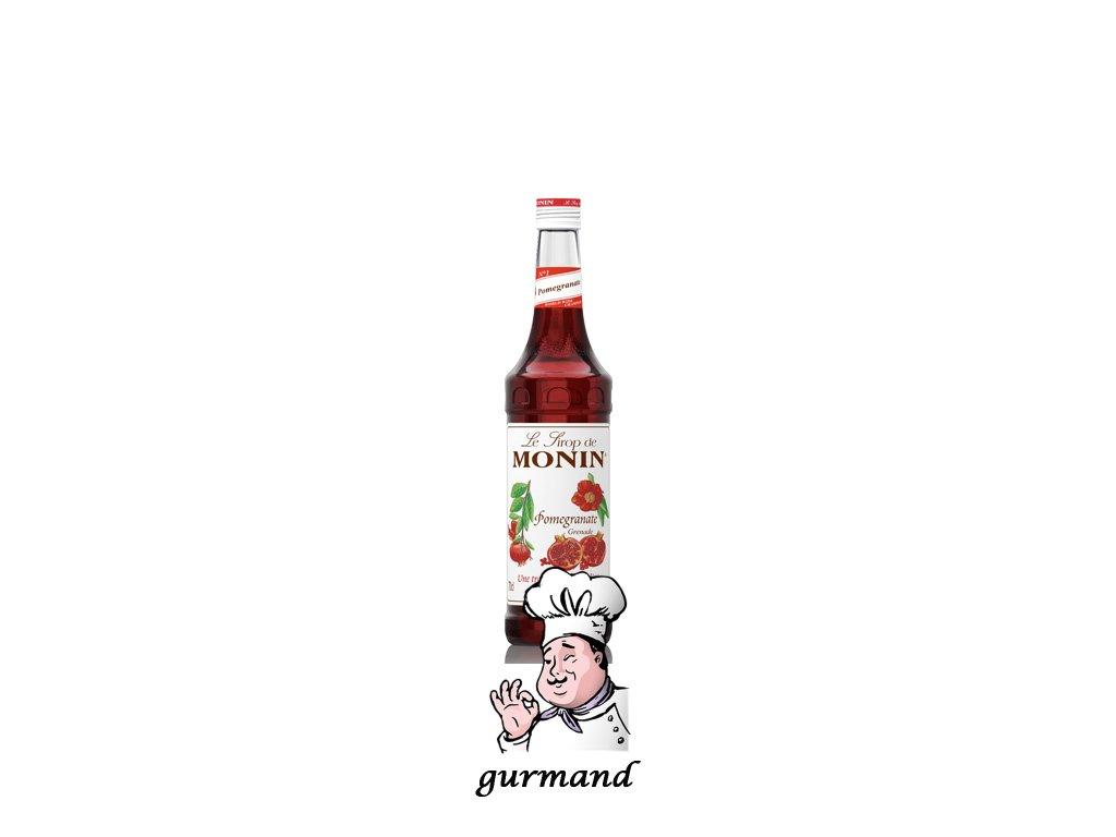Monin Pomegranate  Sirup granátové jablko 0,7l