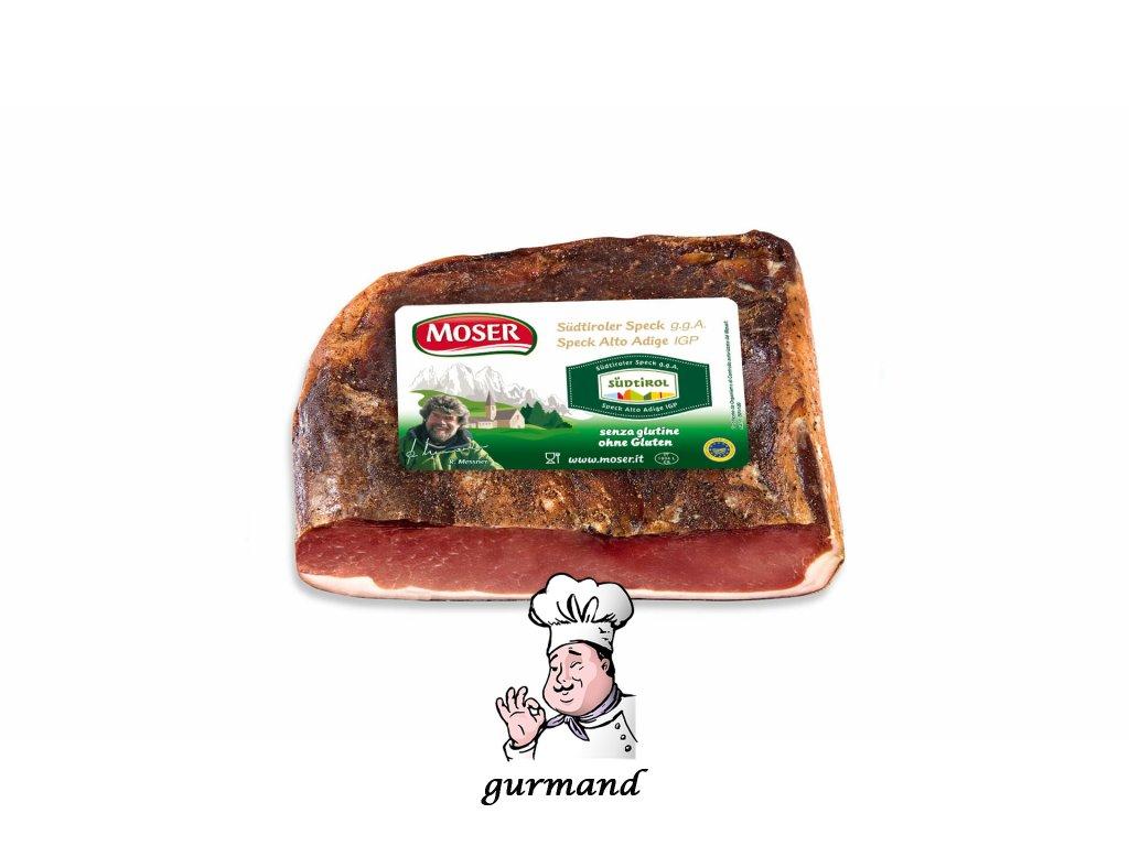 Jihotirolská slanina kusová (Südtiroler Speck) cca 1,5kg
