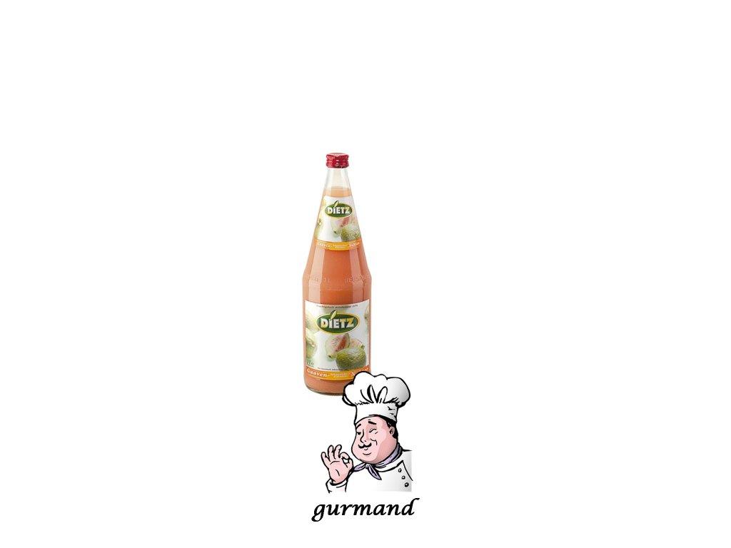 Dietz  Guave džus 25% set 6x1l