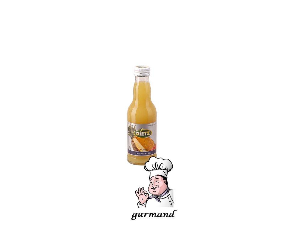 Dietz  Ananasový džus 100% set 12x0,2l