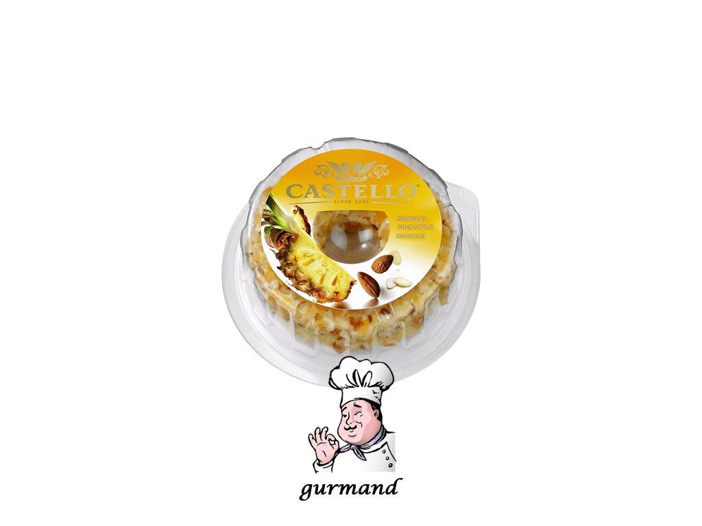Castello Smetanový sýr s ananasem 125g