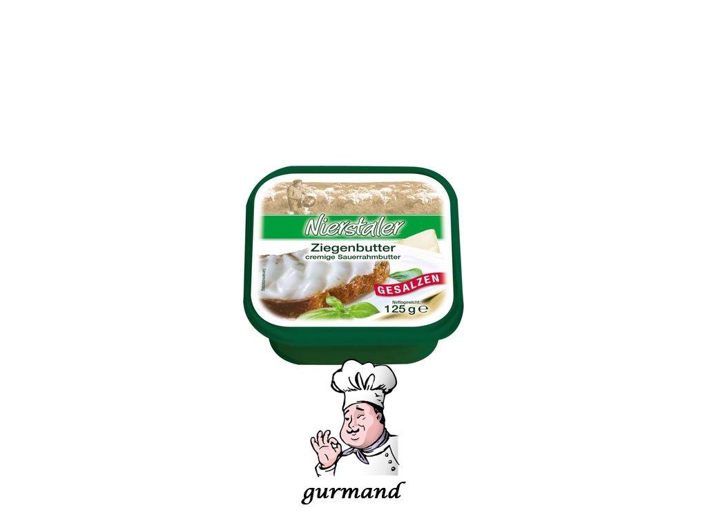 Delina Máslo z kozího mléka solené 84% t.v.s. 125g