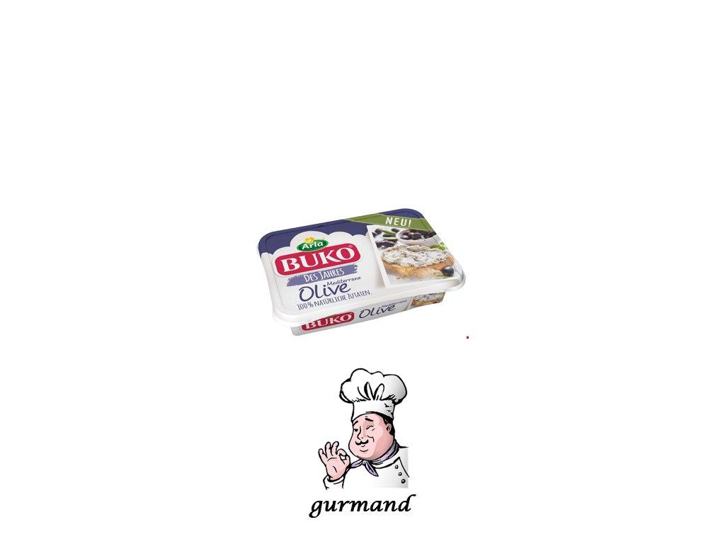 Buko Smetanový sýr Mediterrane Olive 200g