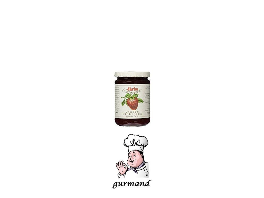 Džem ze zahradních jahod extra 450g
