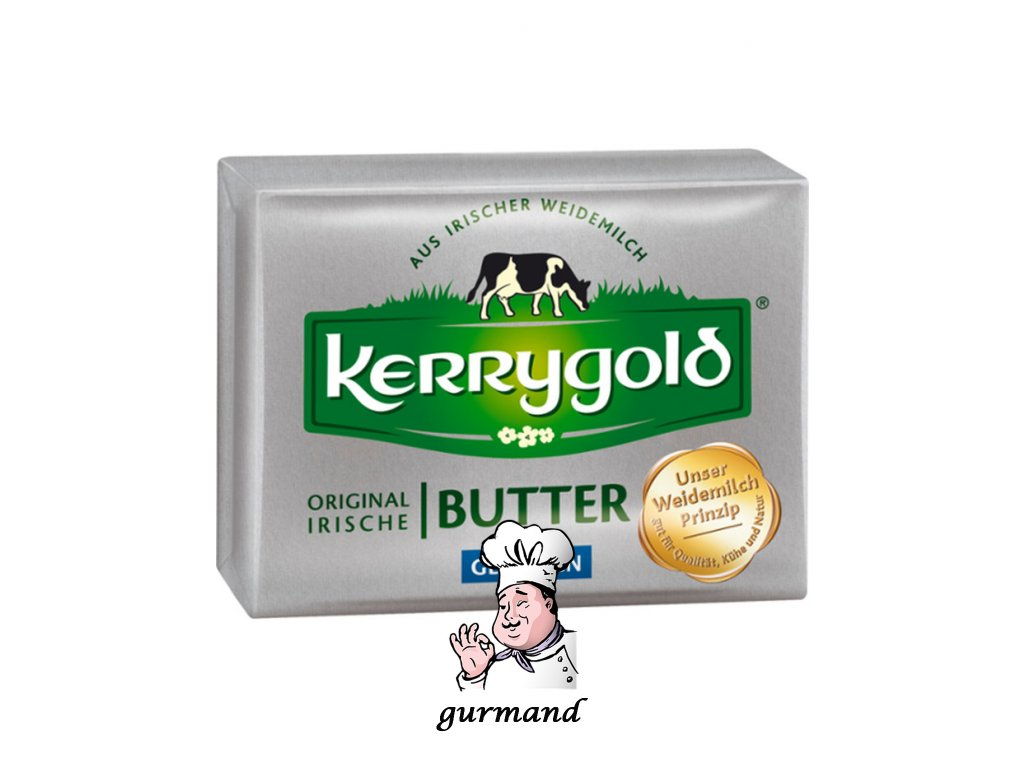 Kerrygold originální irské máslo solené 80% t.v.s. 250g