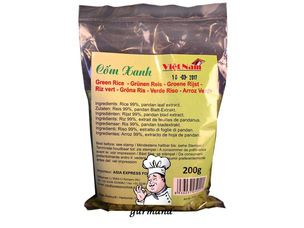 Rýže zelená 200g