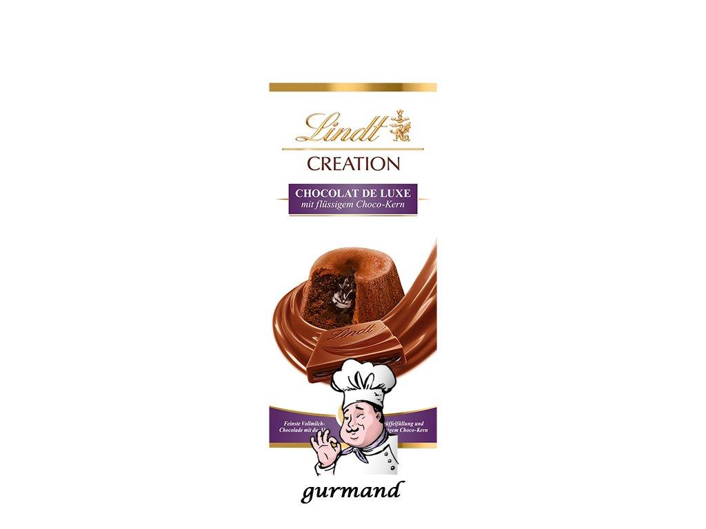Lindt Creation Čokoláda s čokonáplní 150g