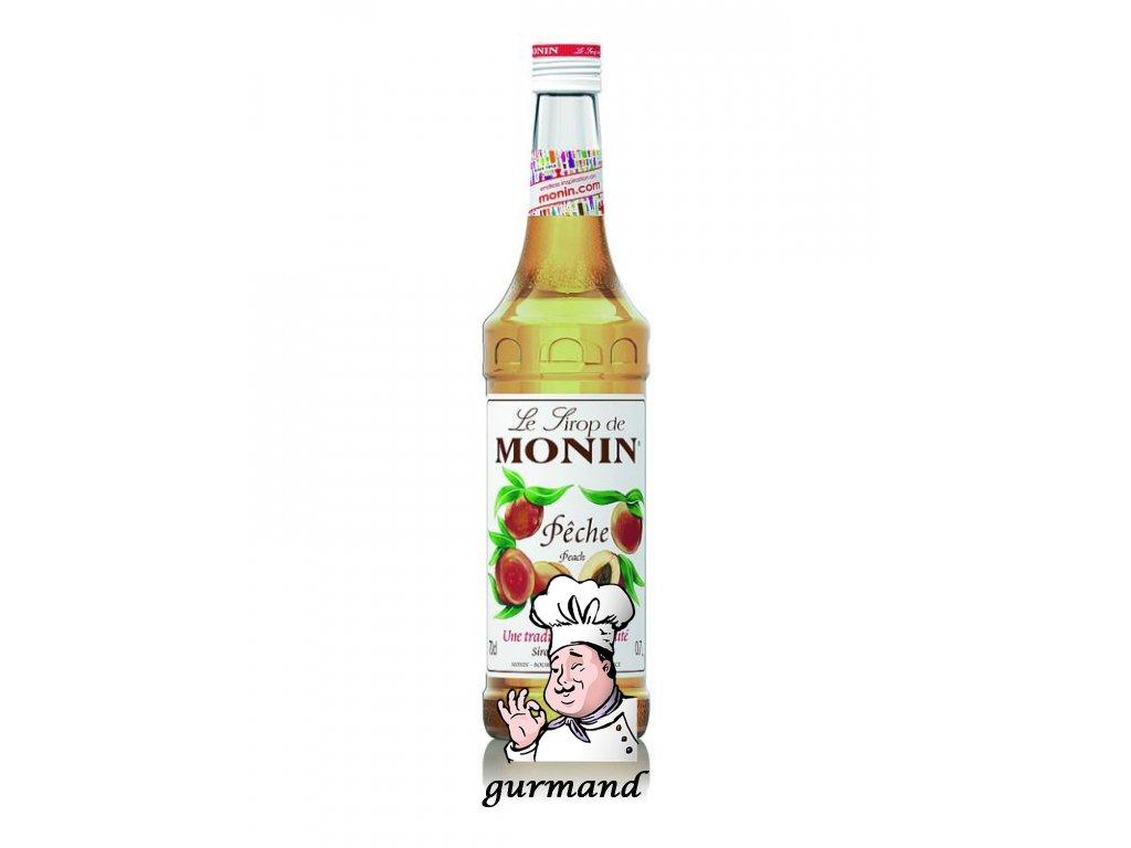 Monin Pêche  Broskvový sirup 0,7l
