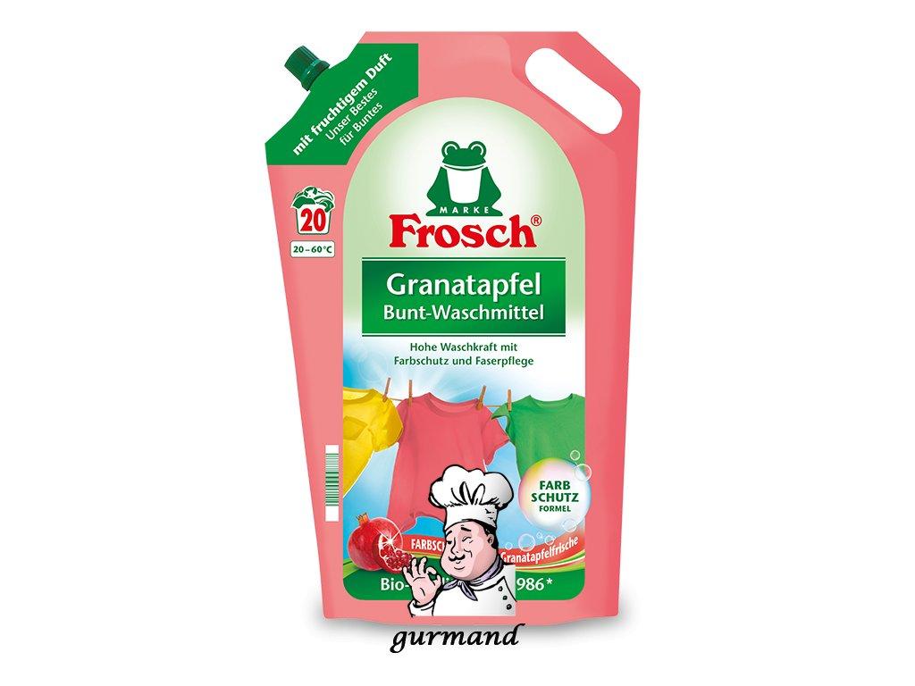 Produktvorlage frosch detailseite bunt waschmittel