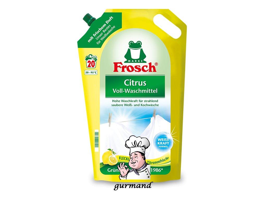 Prací gel na bílé prádlo Citrón 20 dávek 1,8L