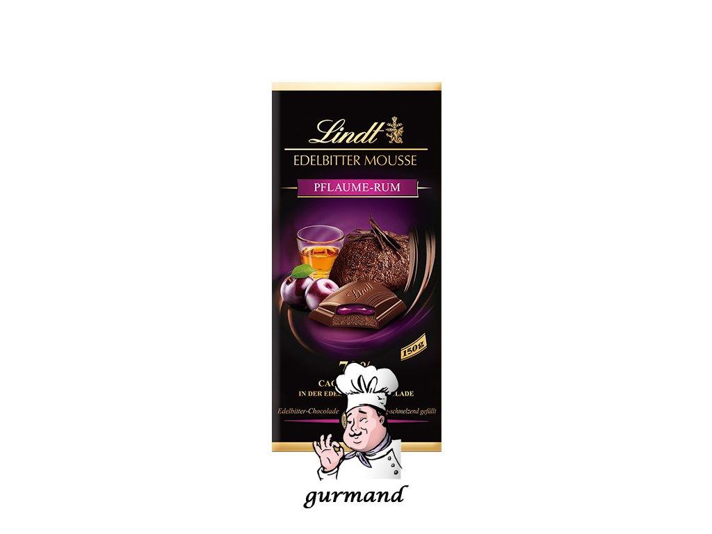 Lindt Edelbitter Mousse Pflaume-Rum 150g