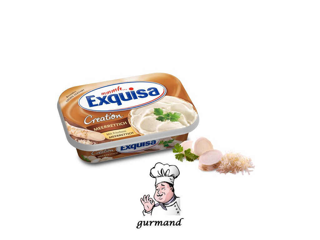 Exquisa Frischkaese Creation Meerrettich