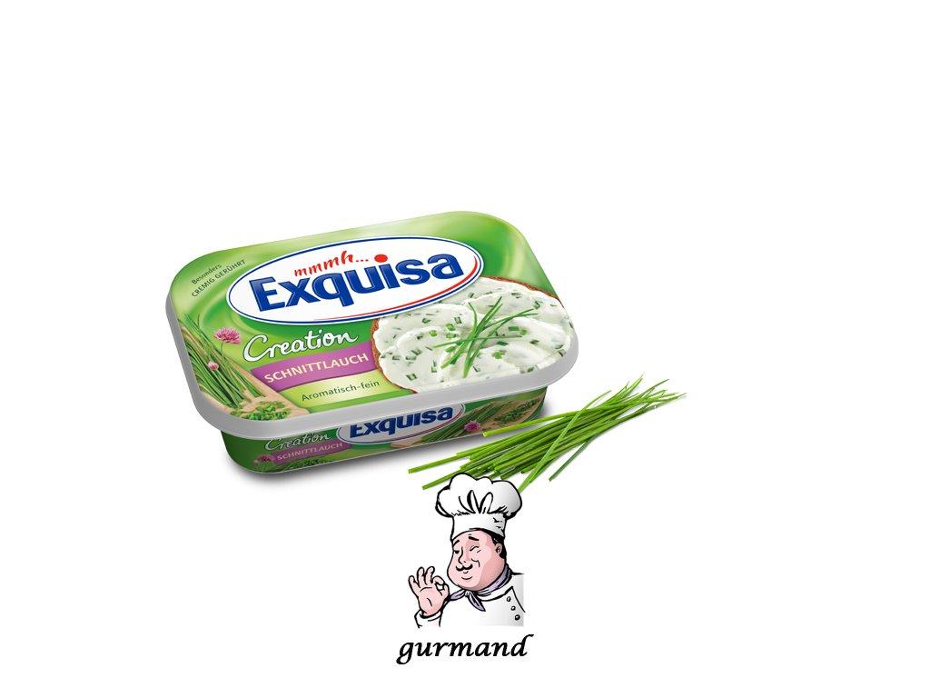 Exquisa Creation Čerstvý sýr s pažitkou 200g