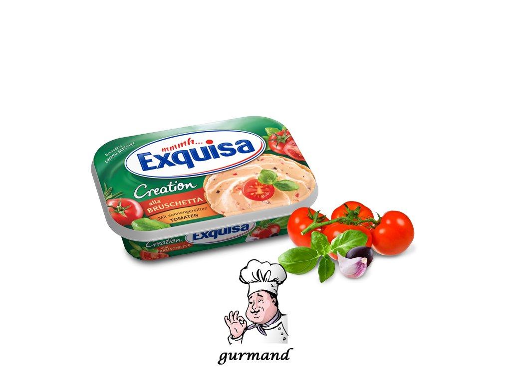 Exquisa Frischkaese Creation Bruschetta