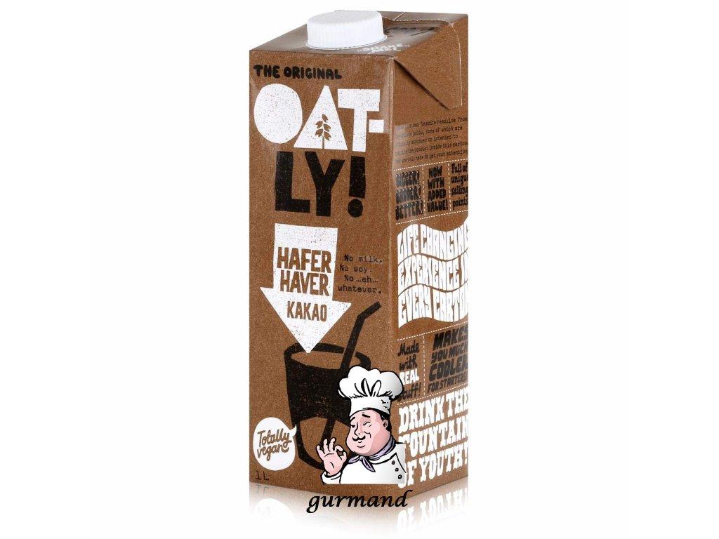 Oat-ly! Kakao Ovesný nápoj s příchutí kakaa 1l