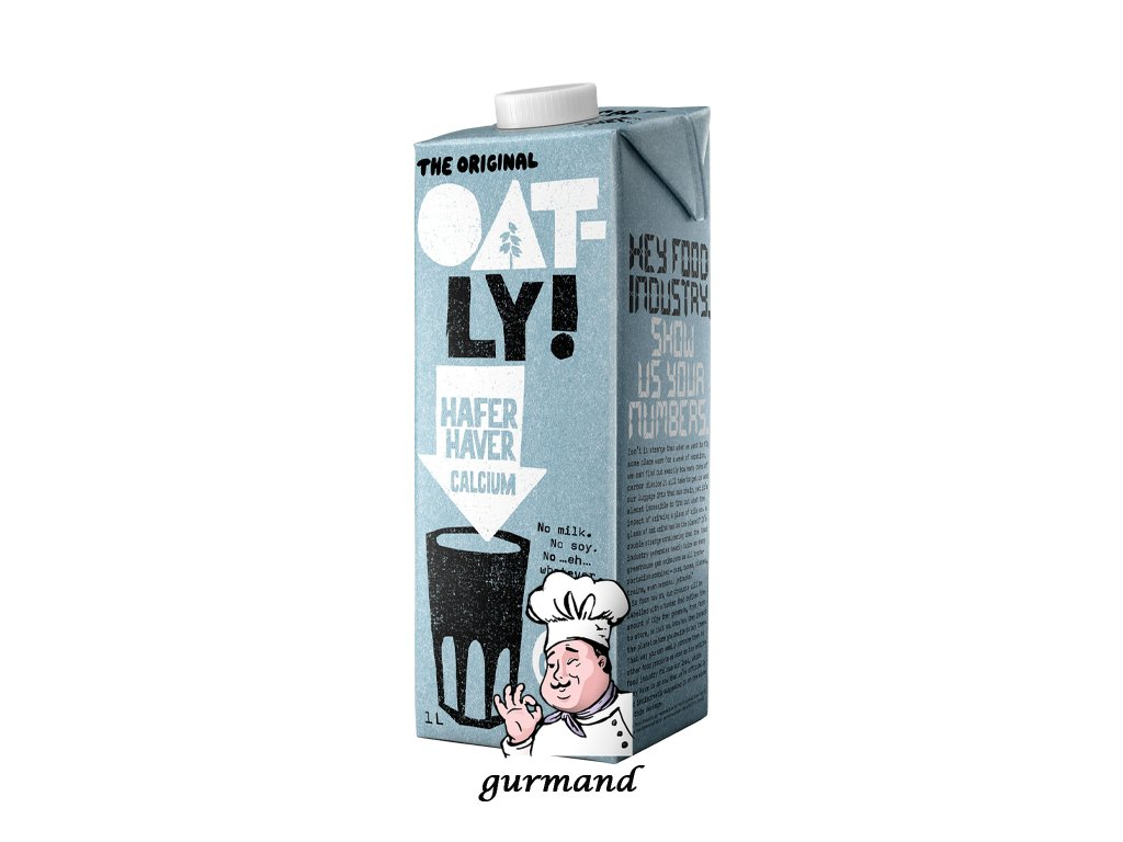 Oat-ly! Calcium Ovesný nápoj s kalciem 1l