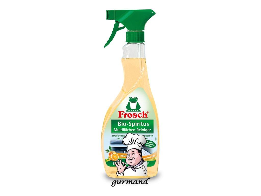 Produktvorlage frosch detailseite citrus dusche bad reiniger