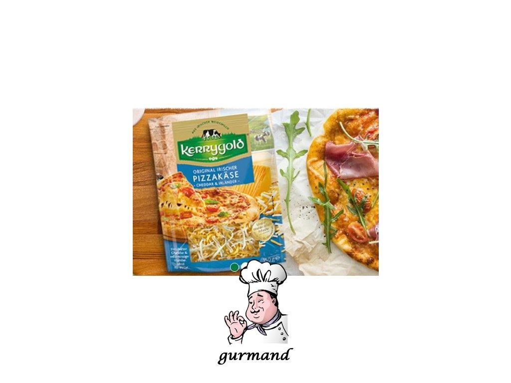Kerrygold Pizza-Käse strouhaný sýr cheddar&irländer na pizzu 30% t.v.s. 150g
