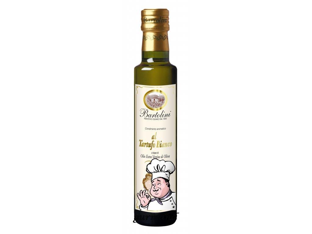 Bartolini Olej olivový panenský extra s bílým lanýžem 250ml