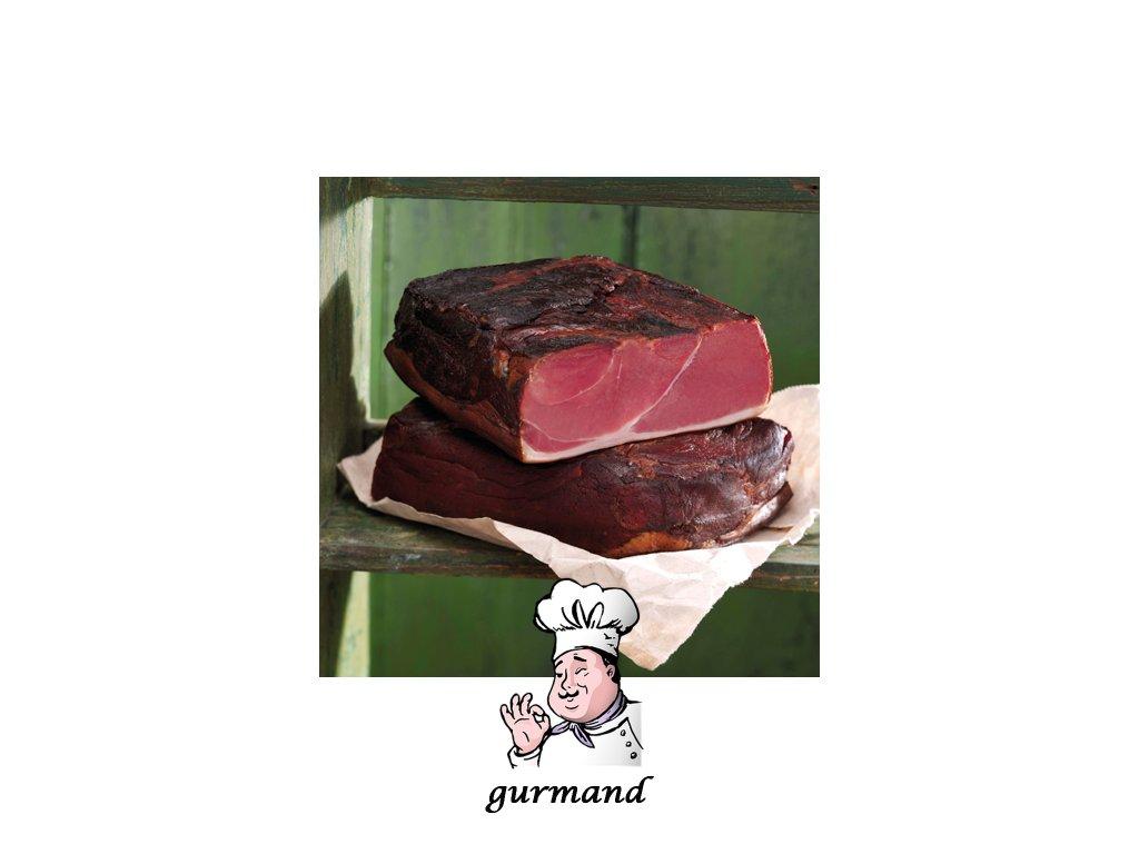Schwarzwaldská šunka bez kůže kusová cca 1,5kg