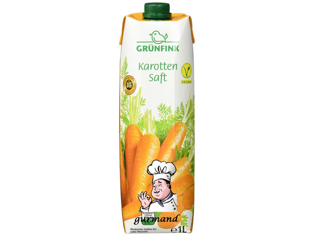 Grünfink  Mrkvová šťáva 1l