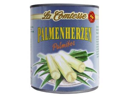 La Comtesse  Palmitos, palmová srdíčka 800/500g