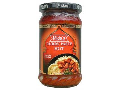 Mida  Karí pasta (Curry) červená ostrá 300g